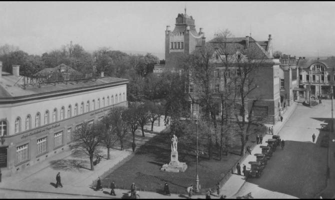 Starý Prostějov: Hlaváčkovo náměstí