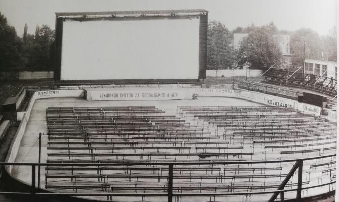 Starý Prostějov. Zimní stadion