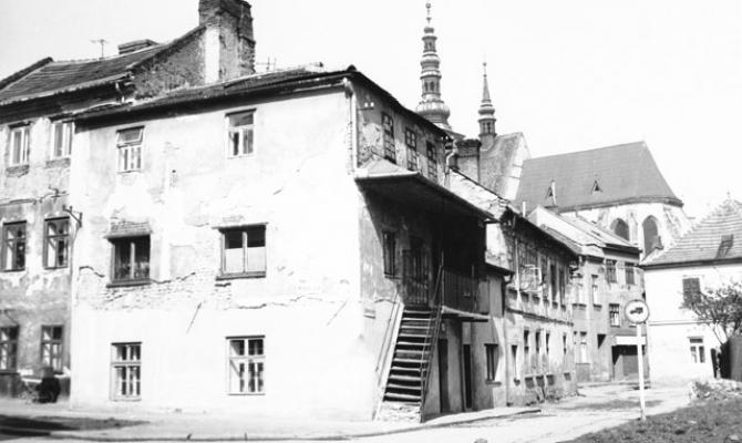 Starý Prostějov. Lutinovova ulice