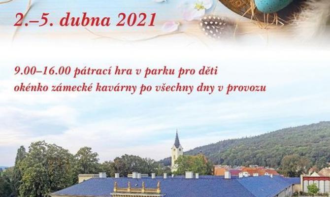Tip na výlet. Velikonoční pátrací hra v parku zámku v Čechách