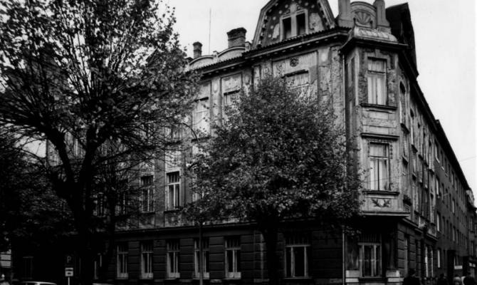 Prostějovské domy. Okresní nemocenská pokladna