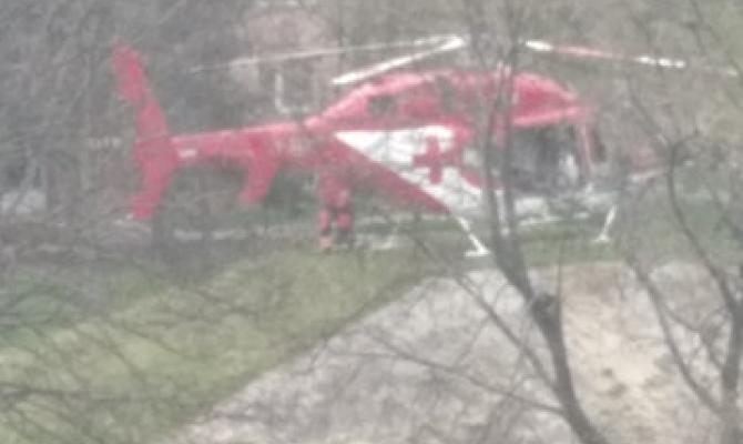 Nezletilého chlapce srazil vlak. Letecky byl transportován do ostravské nemocnice