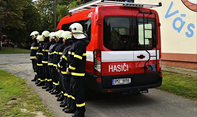 Dobrovolní hasiči dostanou od kraje další peníze