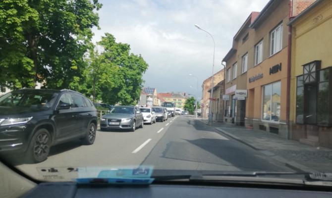 Na odbočení z Wolkerovy do Brněnské je krátká doba!, upozorňuje magistrát Prostějovan