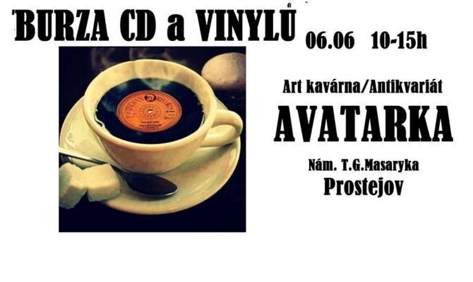 Avatarka pořádá burzu CD a vinylů