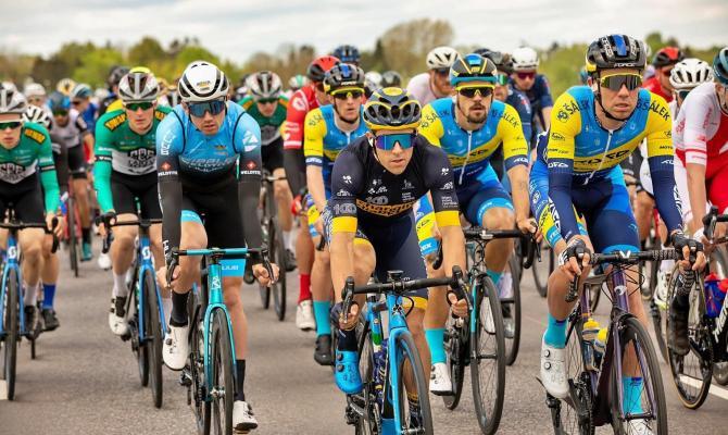 Tým mužů TUFO PARDUS Prostějov závodil na Tour of Estonia UCI 2.1