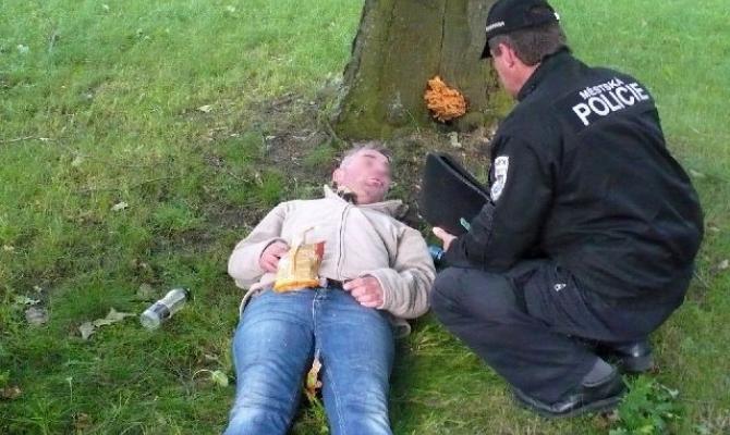 Opilec se válel v trávě. Skončil špatně
