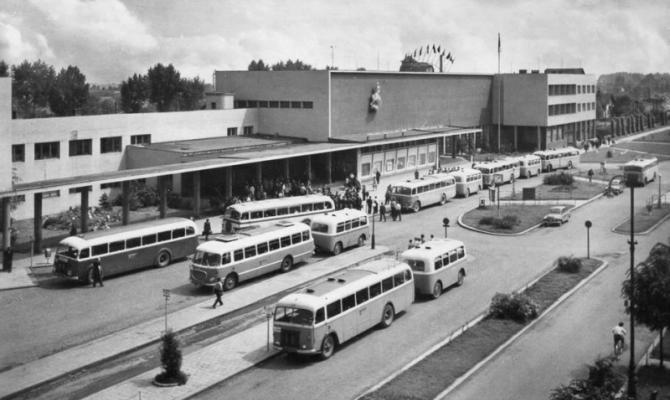 Prostějovské stavby. Hlavní nádraží