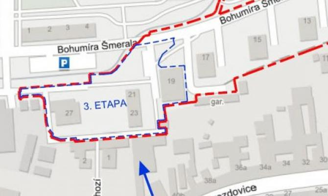 Regenerace sídliště B. Šmerala vstupuje do třetí etapy