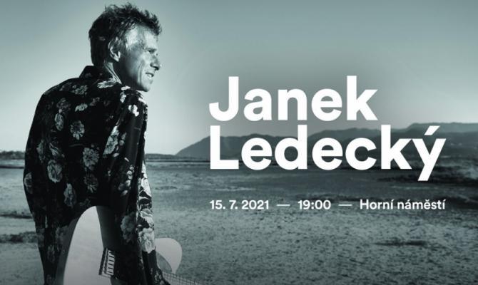 Olomouci zazpívá Janek Ledecký. Již zítra