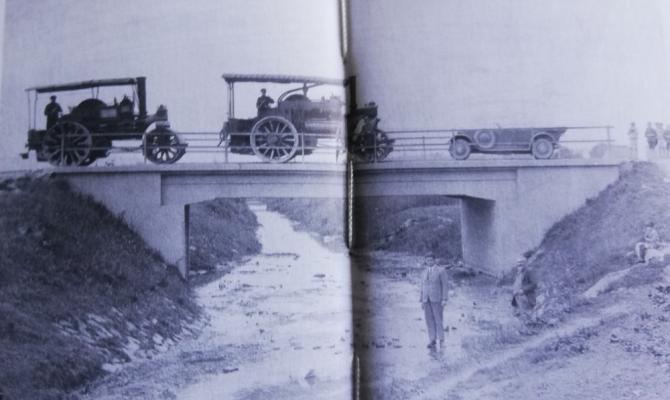 Prostějovské stavby. Most přes Romži ve Vrahovicích